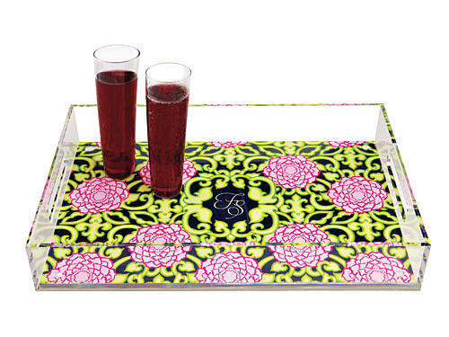 Nothing does the trick like a Lilly Pulitzer print. This Lucite tray can be custom monogrammed.Price: $99Shop:Lifeguard Press