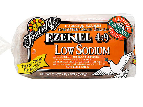 Ezekiel Low Sodium Sprouted Wheat Bread