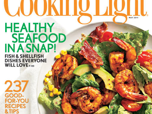 Cooking Light May 2011 Cover