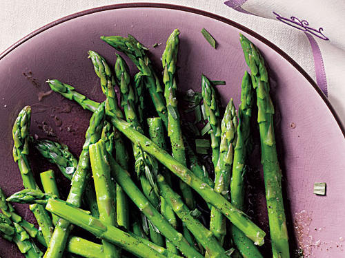 Browned Butter Asparagus Comfort Food Recipe
