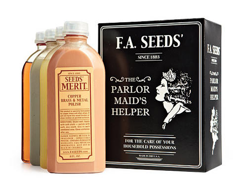 F.A. Seeds' old-school-style kit includes polishes for silver, brass, copper, marble, and wood. Your kitchen will positively gleam.Price: $40Shop: F.A. Seeds Co.