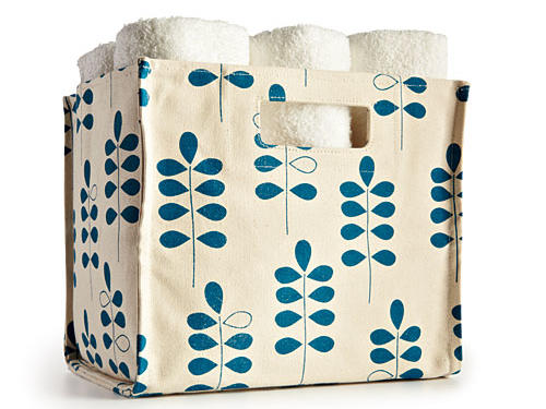 Sturdy canvas bins are perfect for pantries—store magazines, dish towels, onions, whatever...Price: $64-$70Shop: Lovell