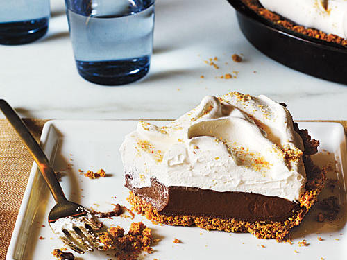 Mexican Chocolate Cream Pie Recipe