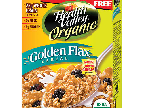 Health Valley Organic Golden Flax Cereal