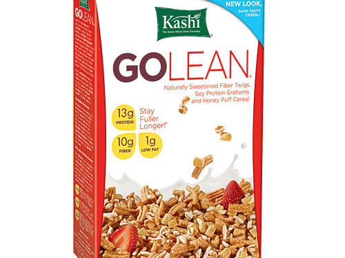 Because cereals are made with grains, they typically contain little protein. But when Kashi came on the scene in 1984 they changed all that. Their original Go Lean Crunchy Fiber Twigs cereal contains a whopping 13g of protein per serving from added soy. With its fiber and protein content, Go Lean is sure to keep you going all morning long. (We let the whole grains slide because of the high fiber and protein content.)Cereal Stats: Whole Grain: 8g, Sugar: 8g, Protein: 13g, Fiber: 10gRunner up: Another cereal from Kashi, Go Lean Crunch is our next choice with 9g protein and a crunchy, sweet flavor.