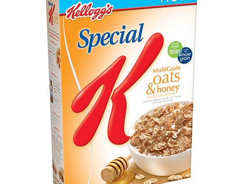 Special K Multi-Grain Oats and Honey is a sweet way to start your morning while still getting a dose of whole grains from whole-grain wheat, whole-grain oats, and wheat bran. We let it slide that there are only 11g of whole grain. Why? This cereal provides the ultimate sweet treat for only 8g of sugar per serving.Cereal Stats: Whole Grain: 11g, Sugar: 8g, Fiber: 3gRunner Up: Barbara's Bakery Shredded Spoonful Multigrain cereal is a close second with 15g whole grain, 4g fiber, 5g sugar, and a naturally sweet flavor from honey.