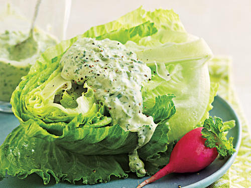 Four-Herb Green Goddess Dressing Recipe