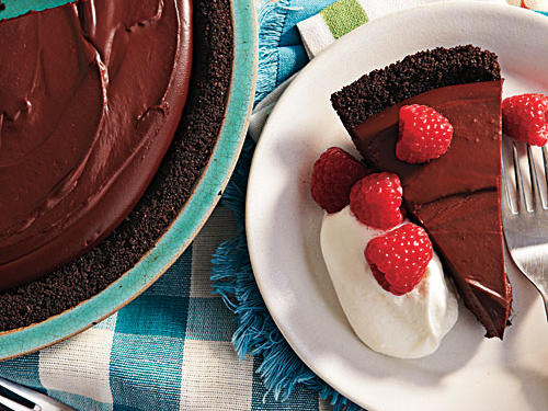 Rich Chocolate Pudding Pie Recipe