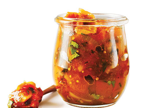 Apricot-Fig Chutney Recipe