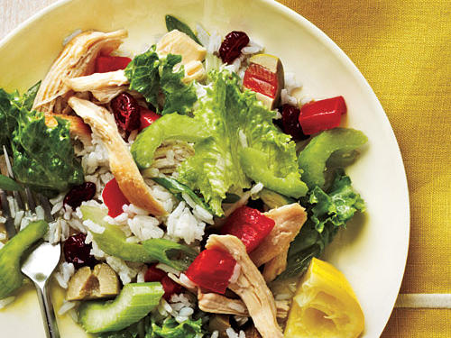 The Overall Plan: Find other good protein substitutes.What to fix: Poultry, fish, eggs, and cheese. Pair them, if it makes sense, with sweet sauces such as cranberry or apple sauce.Good Recipe Choice: Cold Chicken and Rice Salad