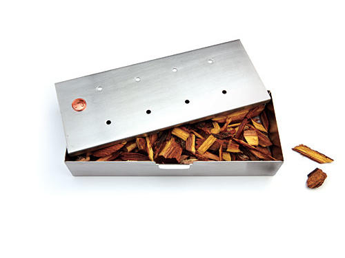 Put water-soaked wood chips into Outset's stainless steel box, and suffuse anything you cook on a gas grill (or charcoal) with delicious smokiness.Price: $12Shop: Amazon.com