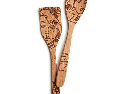 Talisman Designs Beechwood Utensils