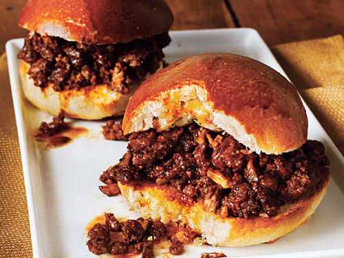 Beef and Mushroom Sloppy Joes Recipe