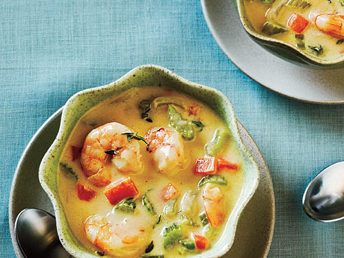 Quick Shrimp Chowder Comfort Food Recipe