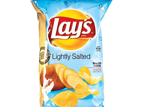 Claim #3:  Light in Sodium  or  Lightly Salted