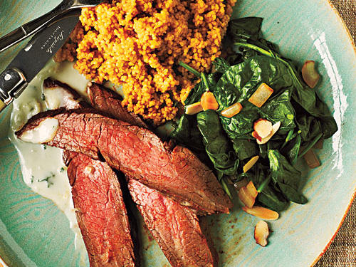 Chipotle-Rubbed Flank Steak Recipe