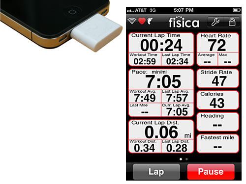 Why we like them: If you own an iPhone or iPod Touch and can't give it up as you exercise, now you don't have to. This company makes a series of products that can turn your Mac device into your own personal trainer, a running partner, and even a personal nutritionist. Once you plug it a mini-sensor into the bottom of your portable device, it can receive data from a variety of other mini-sensors they make, including a heart rate strap to monitor your pulse, as well as devices you can attach to your bike—and even your shoelaces—that can determine not only how far you're walking/running/cycling, but even how fast you're exercising!