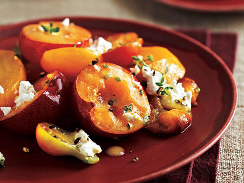 Yellow Plum Salad Recipe