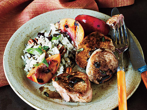 Pork Tenderloin Medallions and Balsamic Reduction Recipe