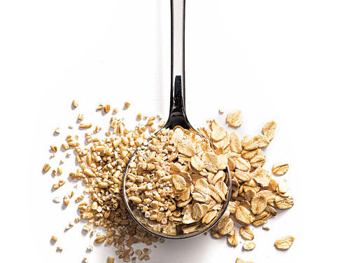 A speedier cook time doesn't mean less wholesome. Instant and quick cooking oats—both rolled and steel cut—are as nutritious, tasty, and fully whole grain as their longer-cooking counterparts.Find more Common Nutrition Myths.