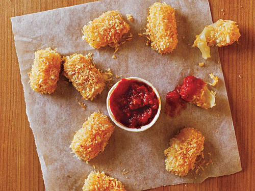 Serve this quick after-school snack to your kids as an alternative to traditional fried cheesesticks.