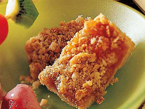 Kids' Heavenly Apricot Cobbler Bars