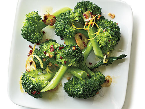 Spicy Chile and Garlic Broccoli