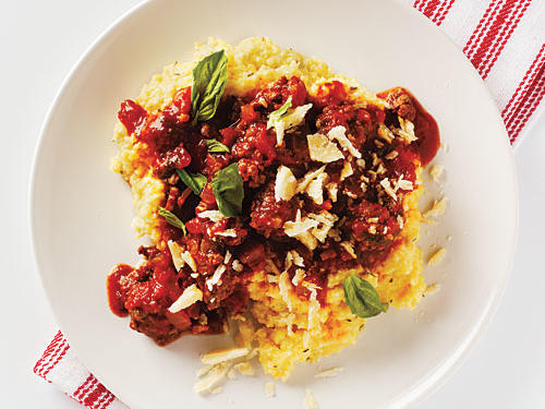 Italian-Style Beef with Polenta Recipe