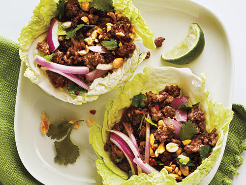 Thai Beef Cabbage Cups Recipe