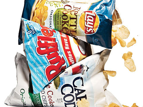 Reduced-Fat Plain Potato Chips