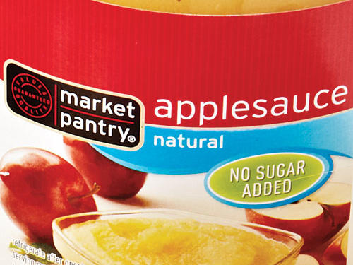 The intensity of the apple flavor really hits in every bite—with just the right sweetness to balance the tart notes.Shop: Market Pantry Applesauce Natural