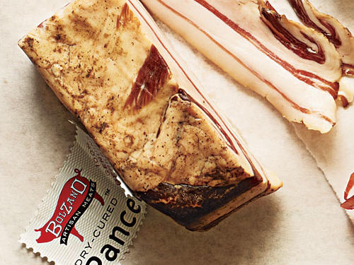 Bolzano Artisan Meats Pancetta (from $10.50, 414-426-6380)Milwaukee-based producer Scott Buer uses traditional dry-curing methods, extending the process to 30 days for added depth of flavor. There's a silky sweetness here that makes it one of the finest pancettas we have ever been lucky enough to taste.