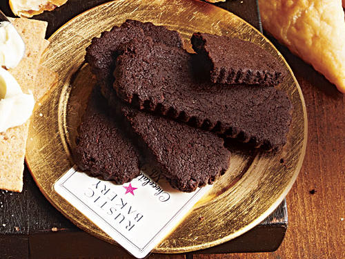Rustic Bakery Chocolate Cacao Nib Shortbread