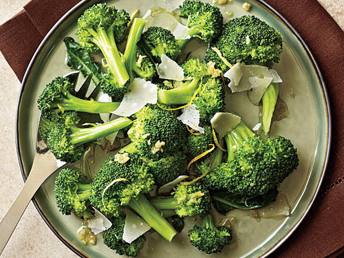 Lemon-Parmesan Broccoli Recipe