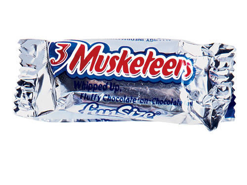 3 Musketeers Fun Size