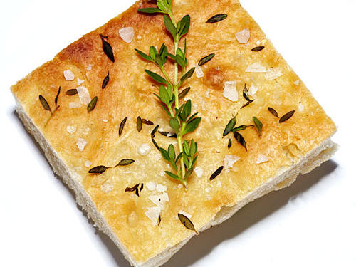 Focaccia Bread with Sea Salt
