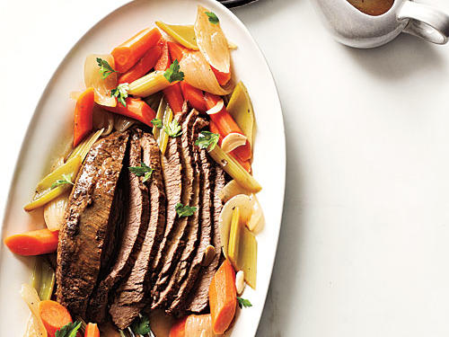 Beer-Braised Brisket Recipe