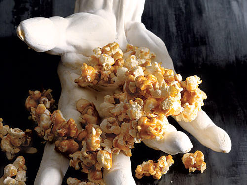 Peanut Butter Caramel Corn Recipe