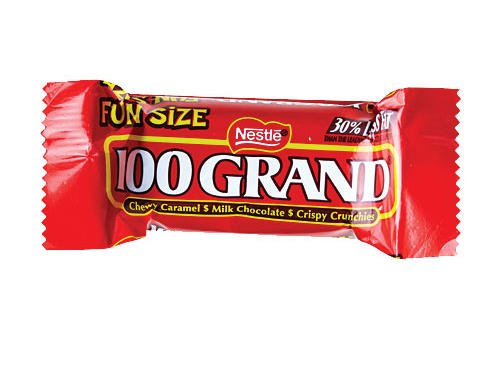 Nestle 100 Grand Fun Size
