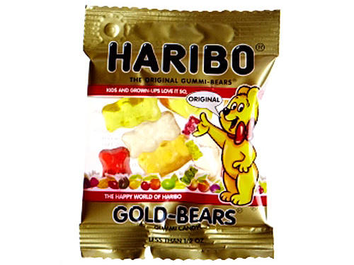 Haribo Gummi Candy: Mini Gold-Bears