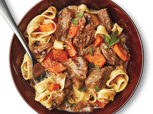 Dijon and Cognac Beef Stew from The Essential New York Times Cookbook