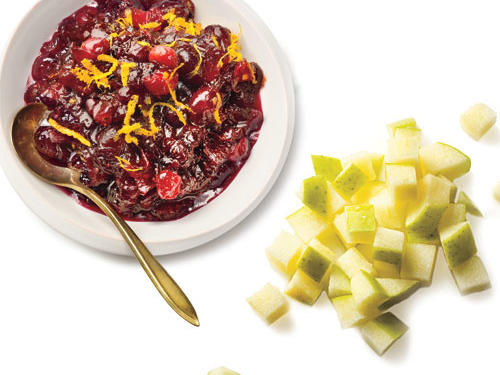 Vegan Apple-Cranberry Sauce Recipe