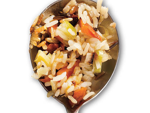 Gluten-Free Wild Rice Stuffing with Dried Cherries and Toasted Pecans Recipe
