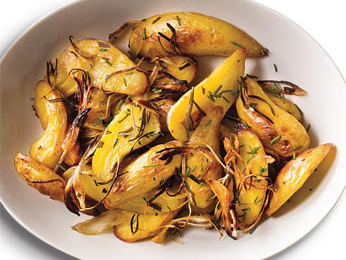 Roasted Rosemary Fingerling Potatoes Recipe