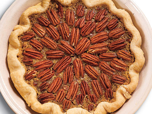 Maple-Bourbon Pecan Pie Recipe