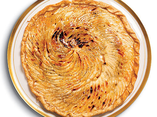 This free-form apple tart is mighty easy because it works from a store-bought crust—yet it's just spectacular, and so evocative of the season.