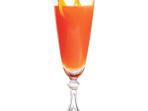 Campari and Orange Sparkling Cocktail