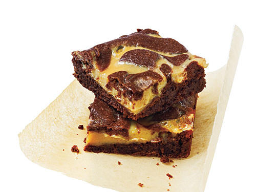 Spicy Caramel Brownies