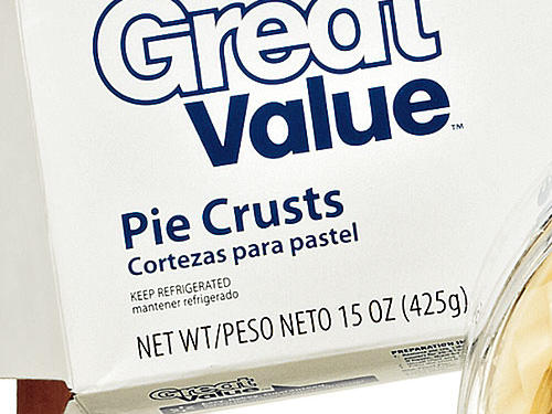 Walmart Great Value Pie Crust