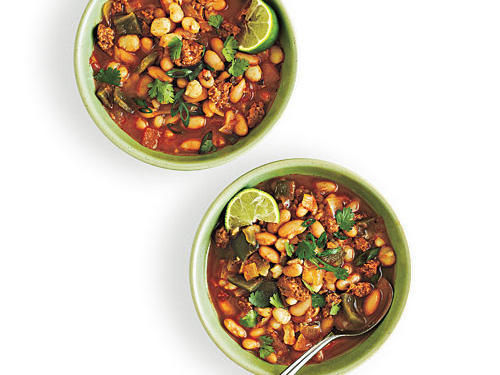 White Bean and Homini Chili